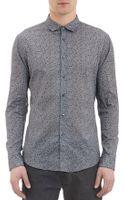 John Varvatos Vineprint Shirt - Lyst