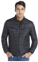 Marc New York Black Channel Quilted Nylon Down Filled Jack Lightweight Jacket - Lyst