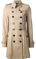 Burberry London Double Breast Trench Coat - Lyst