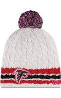 New Era Womens Atlanta Falcons Breast Cancer Awareness Knit Hat - Lyst