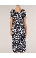 Precis Petite Leaf Print Dress - Lyst