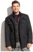 Marc New York Travis Woolblend Contrastbib Military Jacket - Lyst
