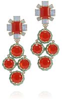 Tory Burch Rodeo Multi Coral Drop Earring - Lyst