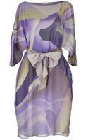 Armani Short Dress - Lyst