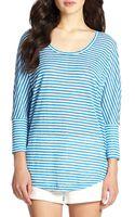 Joie Ashlee Striped Linen Shirt - Lyst