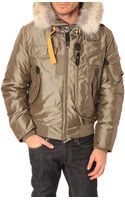 Parajumpers Gobi Taupe Jacket with Removable Fur and Lining - Lyst