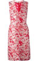 Stella McCartney Flower Dress - Lyst