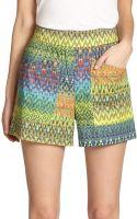 M Missoni Zigzag Shorts - Lyst