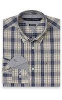 Tommy Hilfiger Custom Fit Long Sleeve Shirt - Lyst
