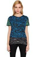 Proenza Schouler Printed Tissue Cotton Jersey Tshirt - Lyst