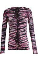 Proenza Schouler Cotton Tie Dye Top - Lyst