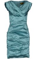 Nicole Miller Short Dress - Lyst
