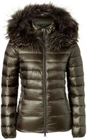 Duvetica Nefele Down Jacket with Furtrimmed Hood - Lyst
