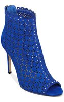 Marc Fisher Sanish Booties - Lyst