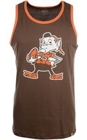 47 Brand Mens Cleveland Browns Tilldawn Tank - Lyst