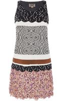 Giambattista Valli Tank Dress with Inlays - Lyst