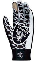 Nike Oakland Raiders Stadium Gloves - Lyst