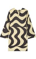 Raoul Aria Printed Silk Mini Dress - Lyst
