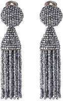 Oscar de la Renta Classic Short Tassel Earring - Lyst
