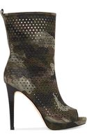 BCBGeneration Gretchen Perforated Booties - Lyst