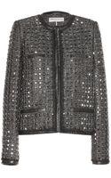 Emilio Pucci Embellished Tweed Jacket - Lyst