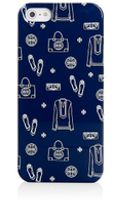 Tory Burch Icons Hardshell Case For Iphone 5 - Lyst
