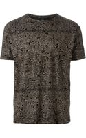 Marc By Marc Jacobs Typewriter Print T-shirt - Lyst