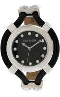 Steve Madden Womens Black Strap Watch 48mm 01 - Lyst
