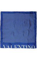 Valentino Square Scarf - Lyst