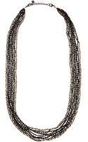 Nakamol Mixed-strand Crystal Beaded Necklace - Lyst