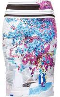 Clover Canyon Santorini Stripe Skirt - Lyst