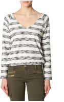 Sanctuary Beach Stripe Shirt - Lyst