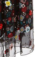 Holly Fulton Embellished Jeni Silk Skirt - Lyst