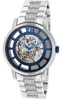 Kenneth Cole Mens Automatic Skeleton Dial Watch - Lyst