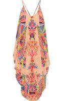 Mara Hoffman Printed Chiffon Beach Dress - Lyst