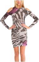 Preen By Thorton Bregazzi Splash Wish Dress in Pink - Lyst