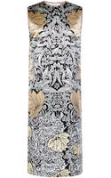No 21 Duchesse Printed Samanta Dress - Lyst