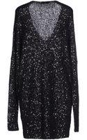 Donna Karan New York Short Dress - Lyst