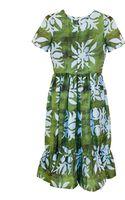 Cynthia Rowley Hawaiian Quilt Print Short Sleeve Dress - Lyst