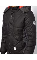 Bellfield Padded Jacket with Detachable Hood - Lyst