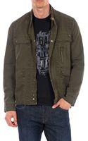 William Rast Twill Army Jacket - Lyst