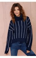 Nasty Gal All Right Now Turtleneck Sweater - Lyst