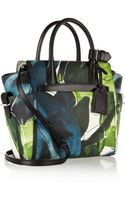 Reed Krakoff Atlantique Mini Floral-print Leather Tote - Lyst