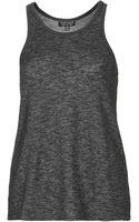 Topshop Womens Scoop Armhole Vest  Black - Lyst