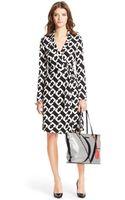 Diane Von Furstenberg Heritage New Jeanne Two Silk Jersey Wrap Dress - Lyst