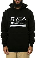 RVCA The Balance Lines Pullover Hoodie - Lyst