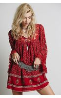 Free People Nomad Child Dress - Lyst