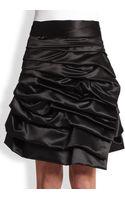 Comme Des Garçons Ruffled Wrap Skirt - Lyst