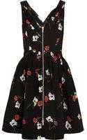 Kate Moss For Topshop Floralprint Cotton Dress - Lyst