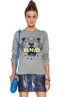 Kenzo Tiger Sweatshirt - Lyst